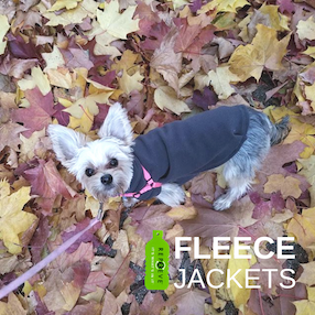 Eco-Pup Arbutus Fleecey Repreve recycled dog coat sweater