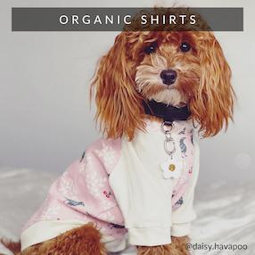 Eco-Pup organic bamboo dog shirts tees tank tops