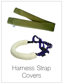 Eco-Pup Recycled Fleece Organic Sherpa Harness Strap Cover