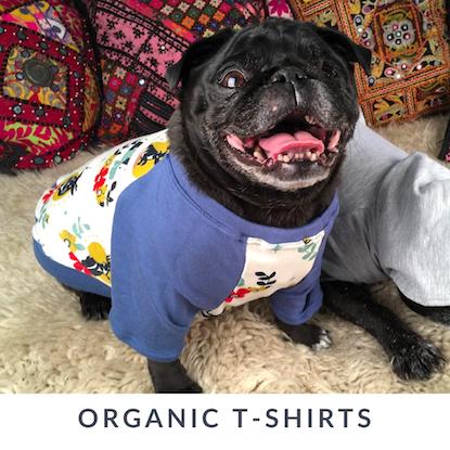 Eco-Pup Dog Clothing organic bamboo dog shirts