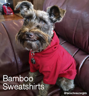 Eco-Pup Dog hoodies bamboo recycled sweaters