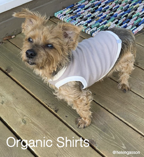 Eco-Pup organic bamboo dog shirts tees
