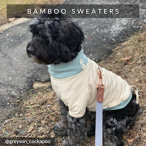Eco-Pup Dog bamboo sweaters