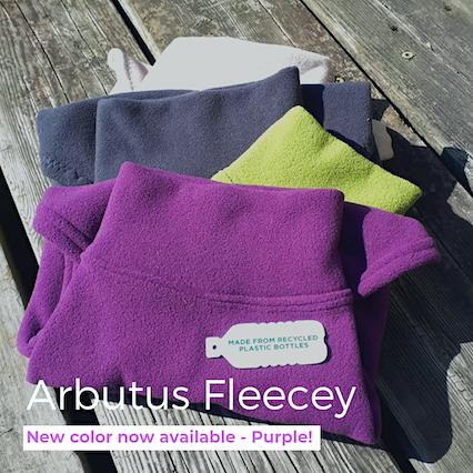 Eco-Pup Arbutus Fleecey recycled dog coat