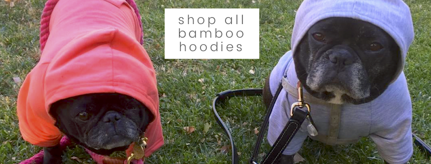 Eco-Pup Dog Clothing soft bamboo hoodie made in Canada
